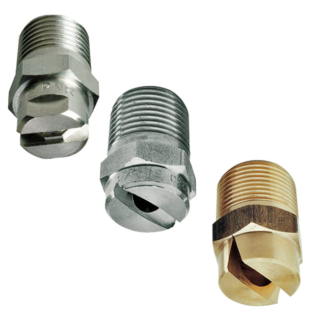 J flat fan nozzle low standard and large capacities