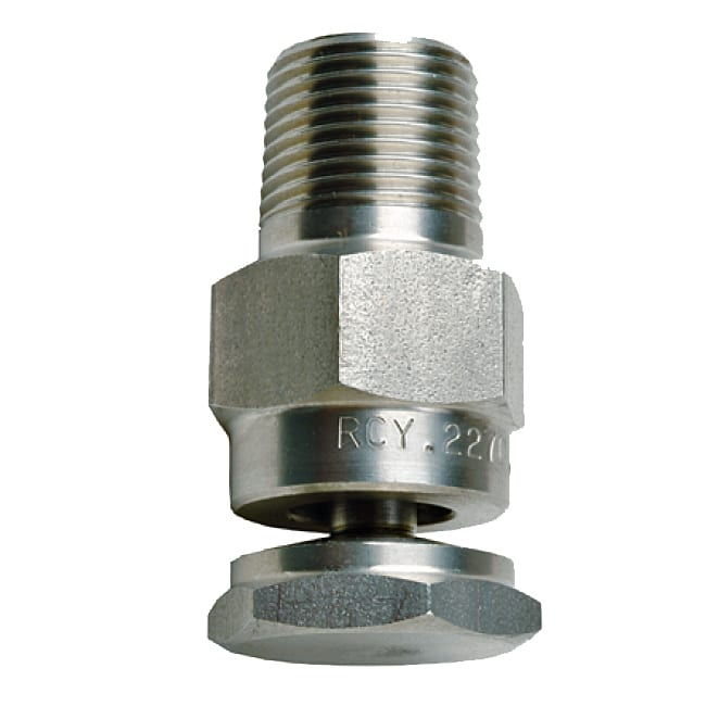 Rc hollow cone nozzle in line spray highly efficient