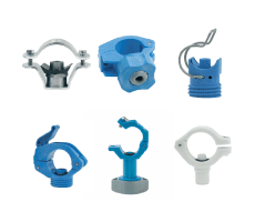 PNR pipe clamps [accessories] / PNR fascette per tubi[accessori] [ugelli spruzzatori]