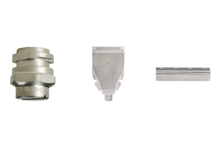 Nozzles for dry end section
